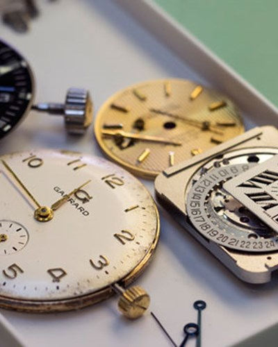 Luxury watch servicing - Mayfair