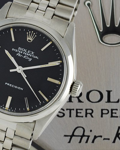In Profile: The Rolex Air-King