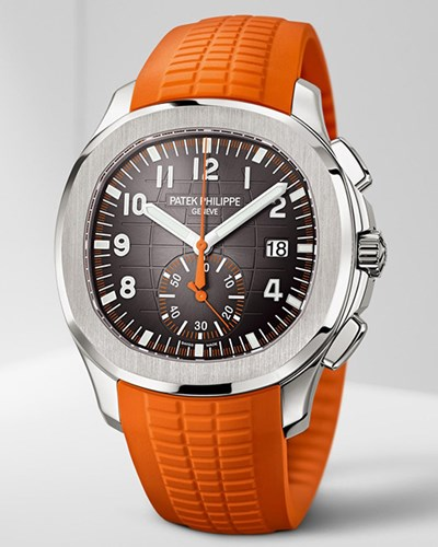 in profile: patek philippe aquanaut