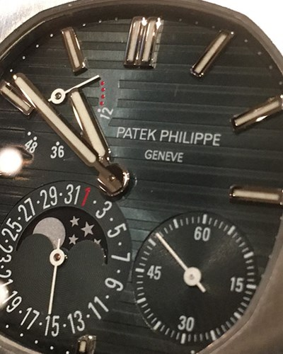 In profile: Patek Philippe Nautilus