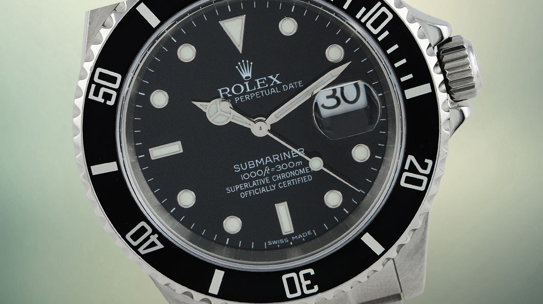 rolex submariner date massage oslo