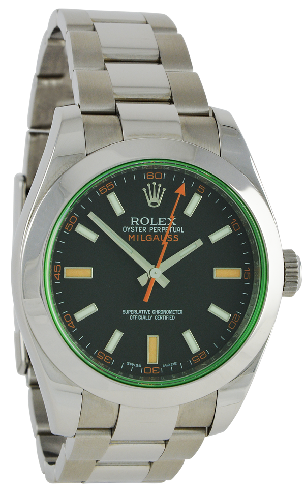 Milgauss Green Glass 116400GV