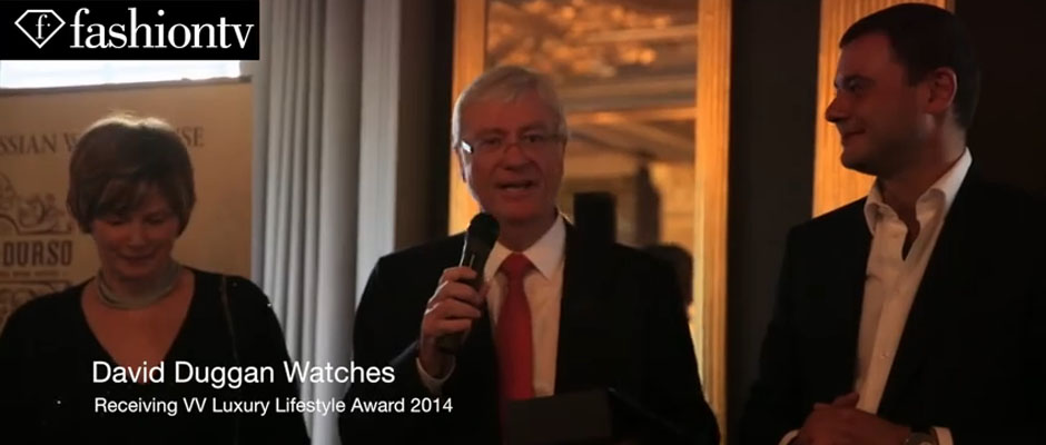 David Duggan Watches won the VV Luxury Lifestyle Award 2014