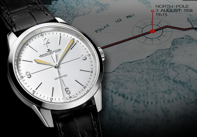 Jaeger LeCoultre Comes Full Circle with New Geophysic
