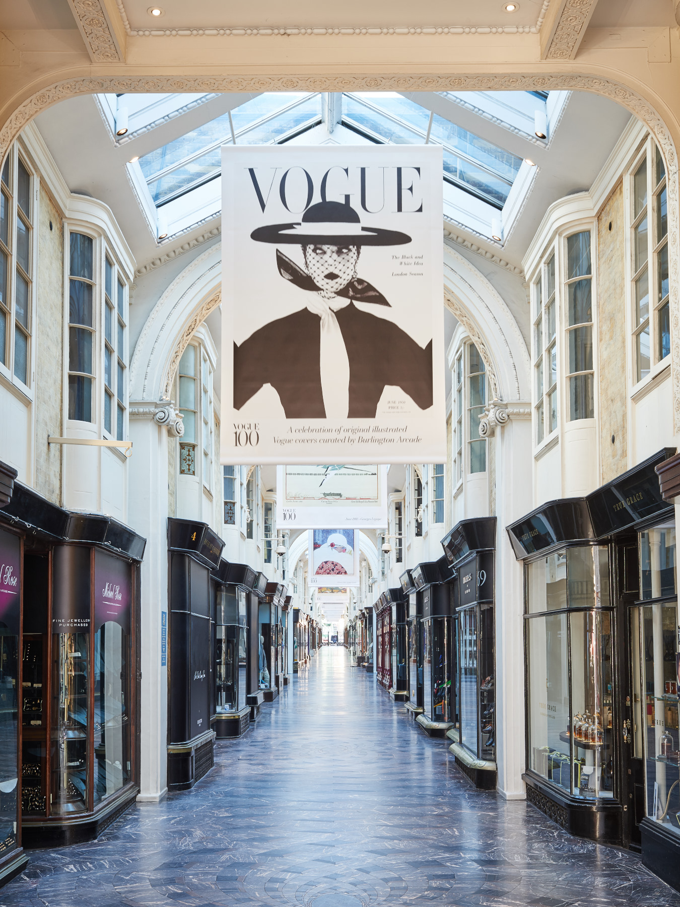 Living luxury watches at Mayfair's Burlington Arcade
