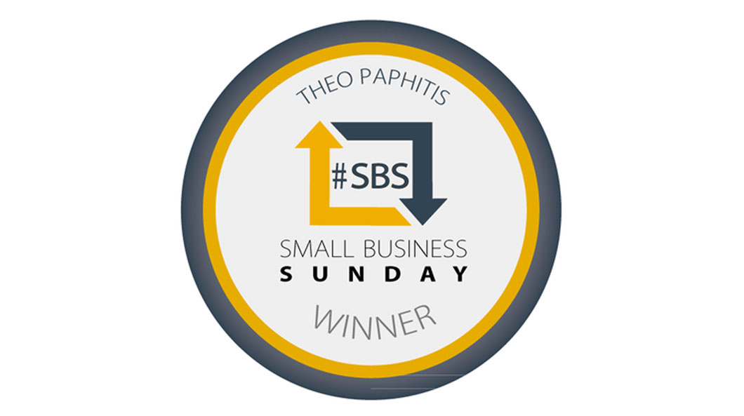 David Duggan Watches Wins SBS Award From Theo Paphitis!