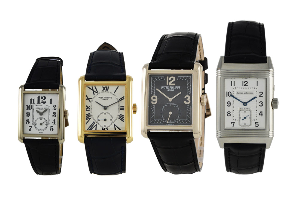 Why are rectangular and square faced watches seemingly less popular than their circular counterparts?