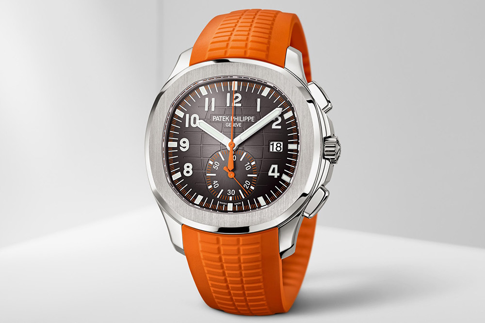 Patek Philippe Aquanaut Chronometer in orange for Baselworld 2018