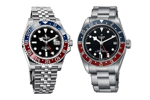 Rolex and Tudor's GMT Masters go head-to-head at Baselworld 2018