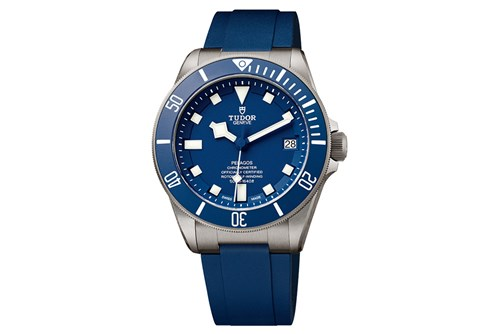 The Tudor Pelagos in Blue
