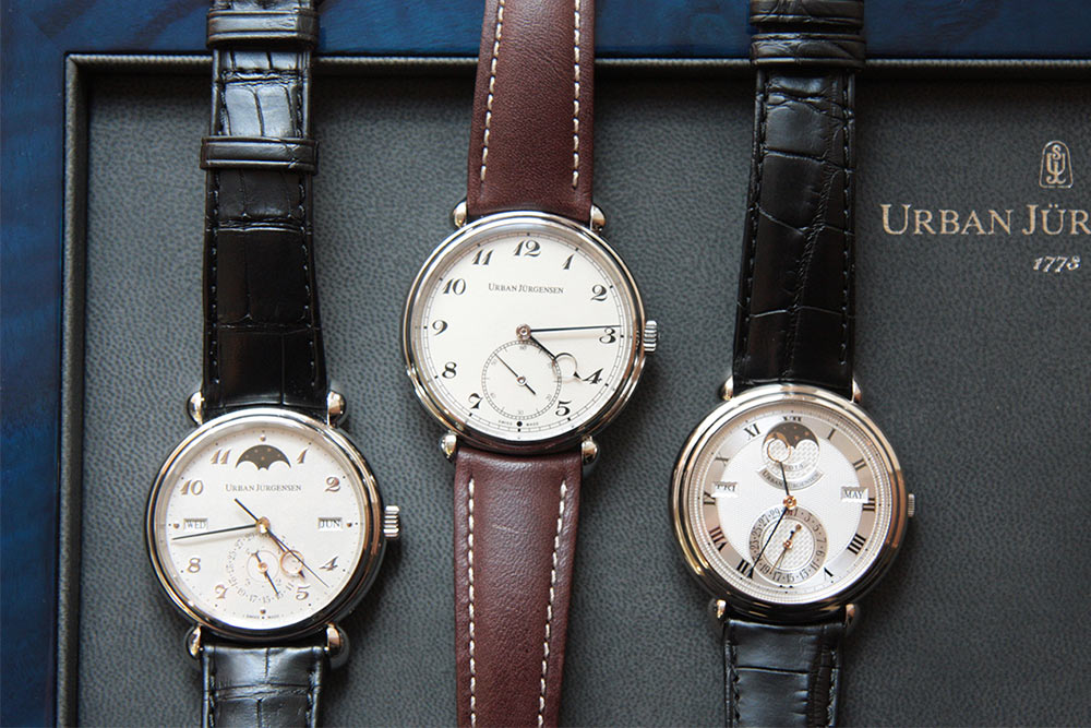 Urban Jurgensen comes to David Duggan's Burlington Arcade Showroom
