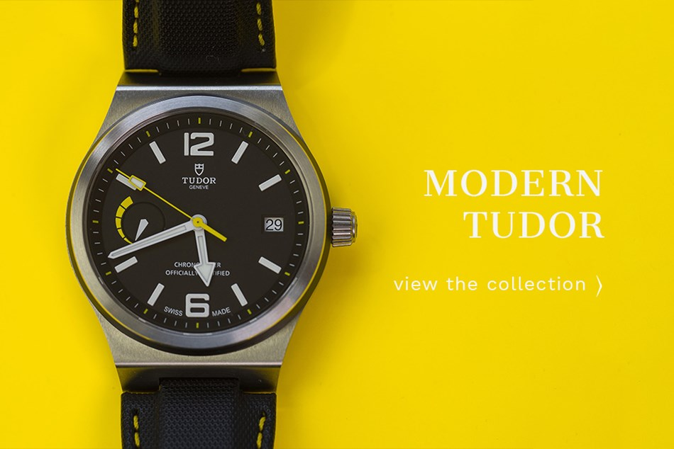 Modern Tudor  at David Duggan Watches