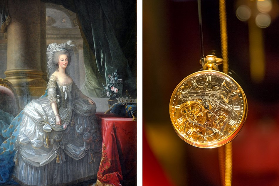 In 1783, celebrated watchmaker Abraham-Louis Breguet was commissioned to create a timepiece for Marie Antoinette by an anonymous admirer