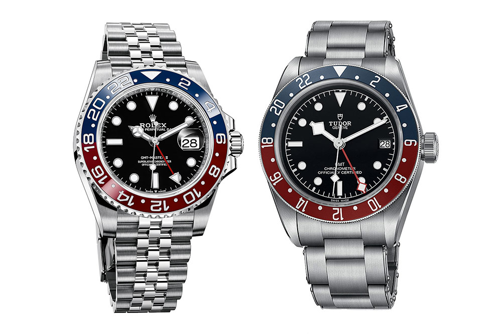Rolex and Tudor's Pepsi GMT Masters from Baselworld 2018